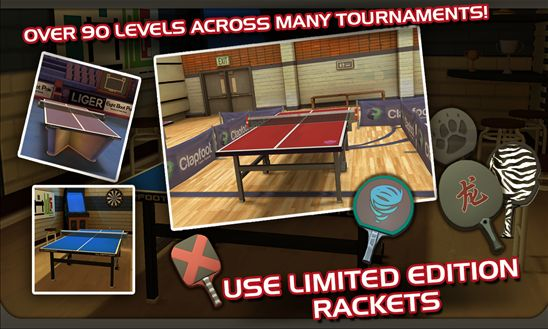 Ping Pong Masters rackets