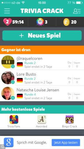 Trivia Crack App Für Android Ios Und Windows Phone
