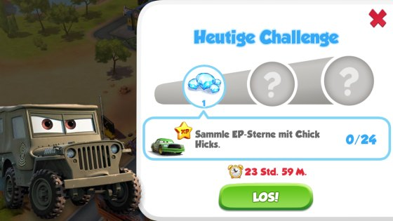 Cars - Schnell wie der Blitz Challenge