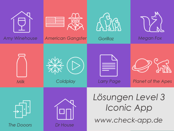 Icon Lösung Level 3