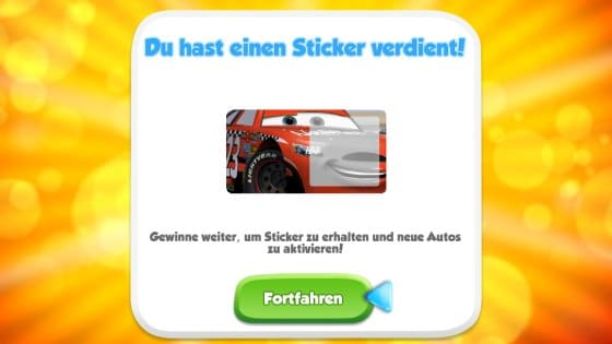 cars app sticker