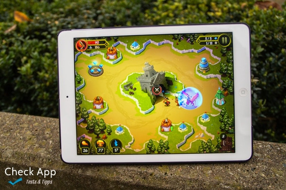Review: Crystal Siege HD - tolles Tower Defense - Check-App