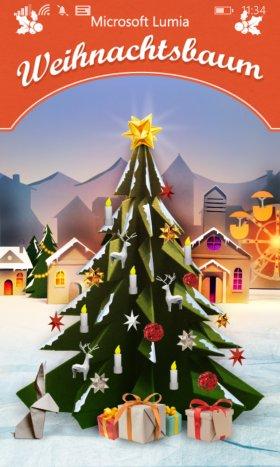 microsoft lumia weihnachtsbaum adventskalender check app. Black Bedroom Furniture Sets. Home Design Ideas