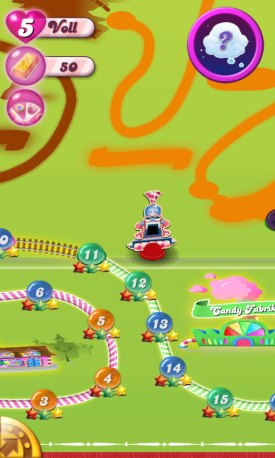 candy crush saga karte