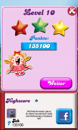 candy crush saga level10
