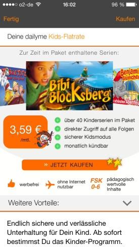 dailyme app kids flatrate