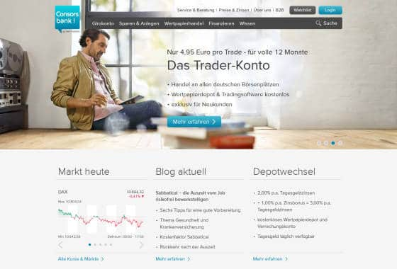 Consorsbank_Homepage