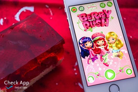 Strawberry Shortcake Berry Rush App