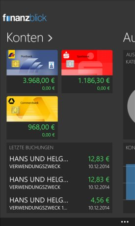 finanzblick windows phone