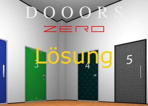 Dooors_Zero_Loesung