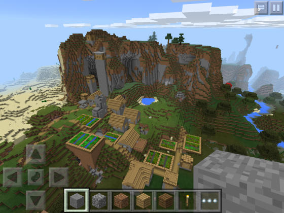Minecraft_PE_Seed_super_pig