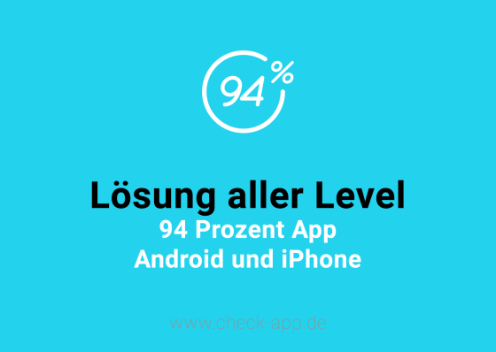 94 prozent l sung aller level f r android ios wp for Zimmer 94 prozent