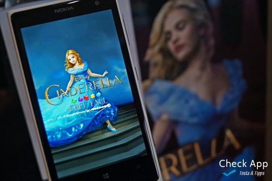 Cinderella_Free_Fall_App