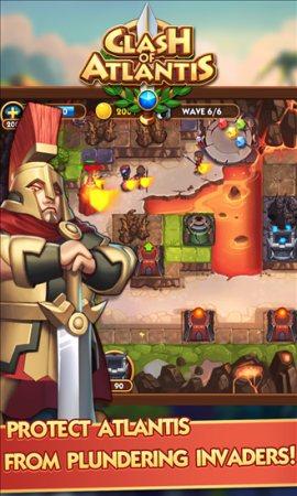 Clash of Atlantis App