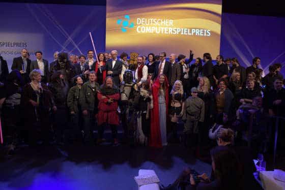 Die Gewinner des DCP 2014 (Foto: DCP)
