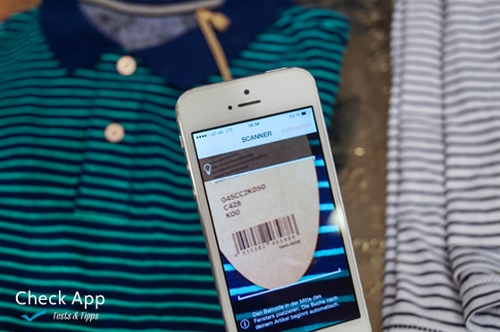 Bar Code Tester : Zalando app für android ios und windows phone im check