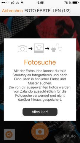 Zalando_App_Fotosuche