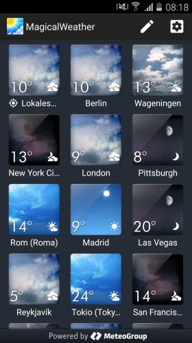 MagicalWeather Android