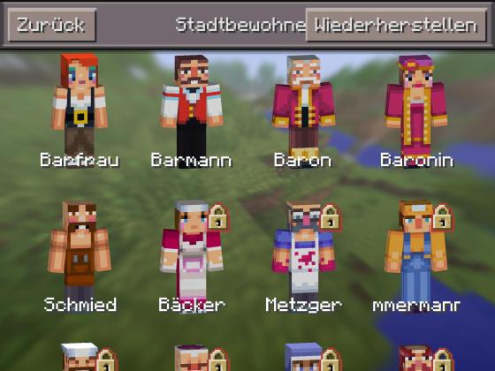 Minecraft_PE_Update_0111_Skins_Stadtbewohner