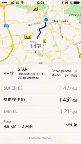 Spritradar_App_Route