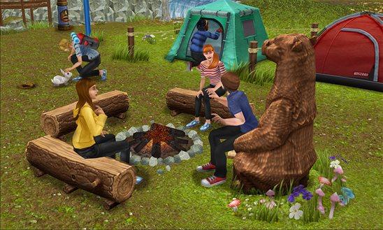 sims freeplay camping