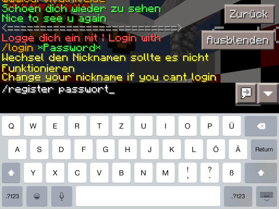 Minecraft PE Im Multiplayer Server Konfiguration Erfahrungen - Minecraft pe server erstellen am handy