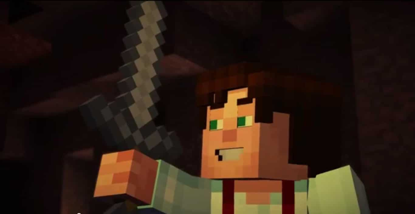 Minecraft_Story_Mode_Trailer_Stonesword