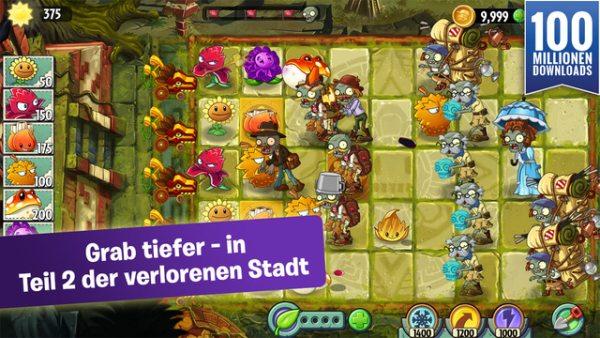 plants vs zombies verlorene stadt