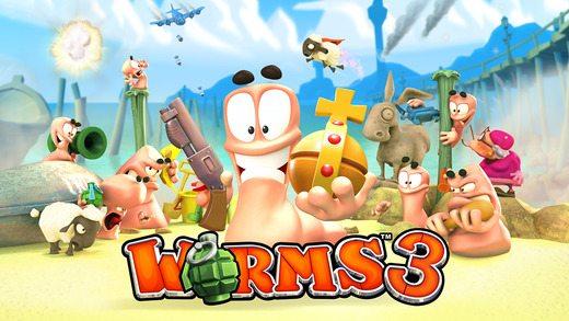 worms 3 app
