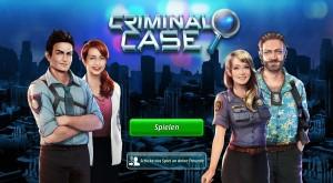 Criminal Case_Startbildschirm