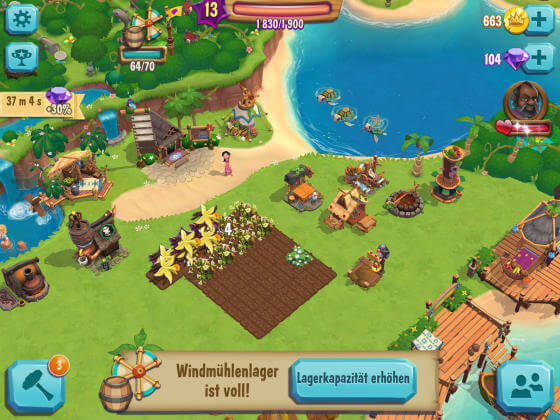 Paradise_Bay_Tipps_Lager_voll