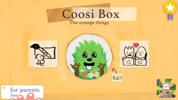 Coosi Box_Start