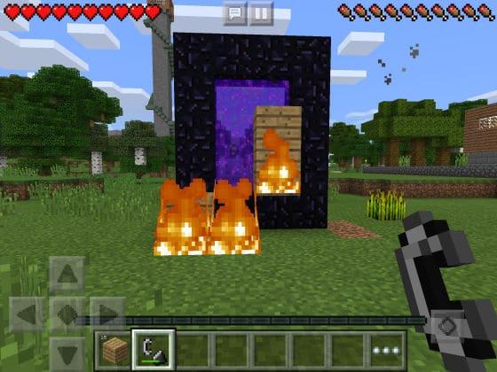 Minecraft_PE_Nether_Portal