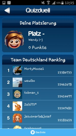 Quizduell_Ranking