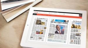 iPad Kiosk Blendle App