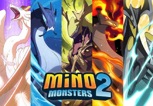 mino monsters 2 evolution