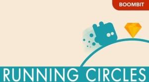 running circles app
