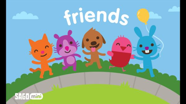sago mini friends app