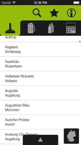 brauns brauereiatlas app