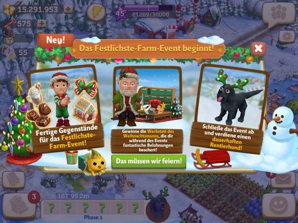 farmville 2 raus auf 39 s land weihnachtsevent check app. Black Bedroom Furniture Sets. Home Design Ideas