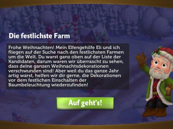 farmville 2 weihnachtsdekorationen