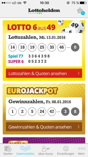 Gewinnchancen Lotto