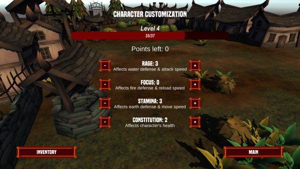 Fantasy Mage stats