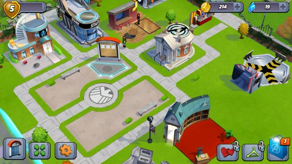 Marvel Avengers Academy Map