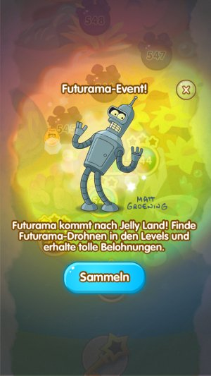 jelly splash futurama event 2