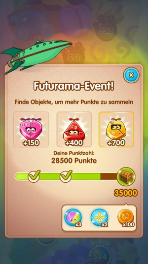 jelly splash futurama event 4