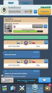 Clash Royale Karten spenden