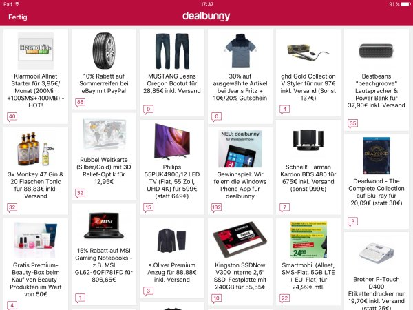 Dealbunny_App_Deals