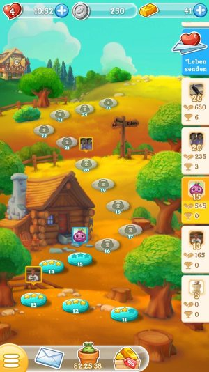 Farm Heroes Super Saga Map