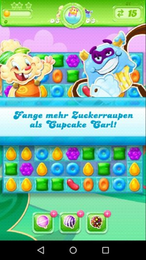 Candy Crush Jelly Saga Cupcake Carl